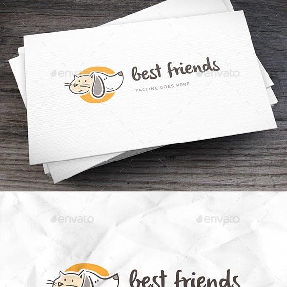Best Friend Logo Template