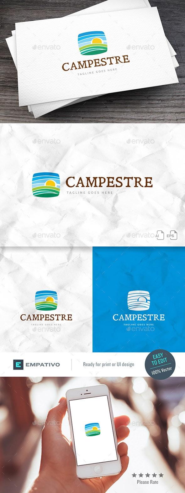 Campestre Logo Template - Nature Logo Templates