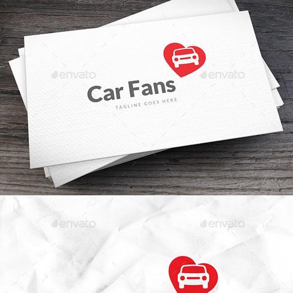 Car Fans Logo Template