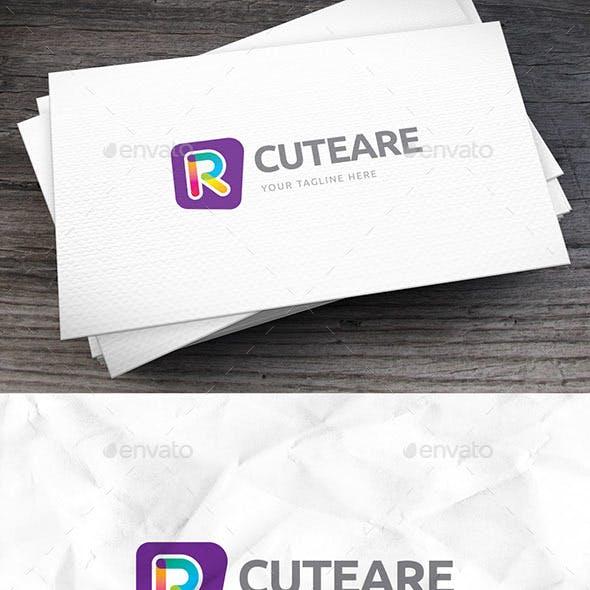 Cuteare Letter R Logo Template