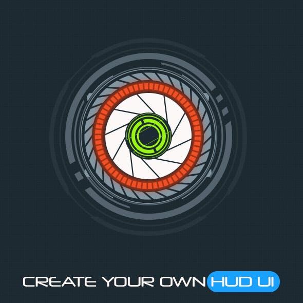 30 Primitive HUD Circles - Custom Shapes