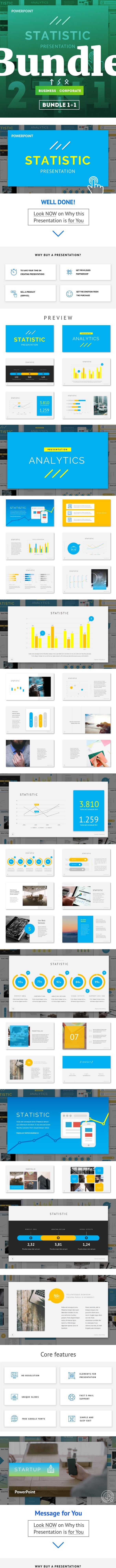 Bundle 1+1 Startup Powerpoint - PowerPoint Templates Presentation Templates