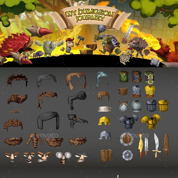 Journey Game Assets from GraphicRiver