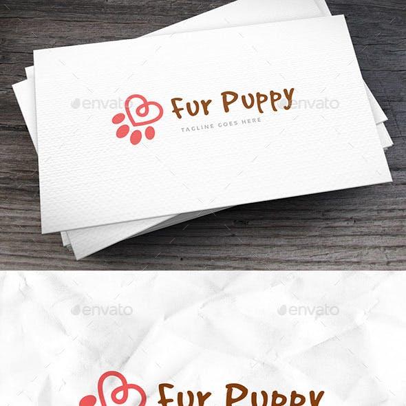 Fur Puppy Logo Template