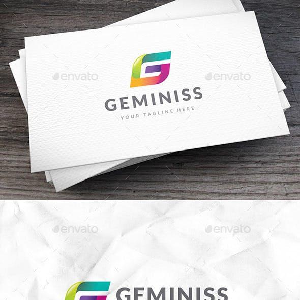 Geminiss Letter G Logo Template
