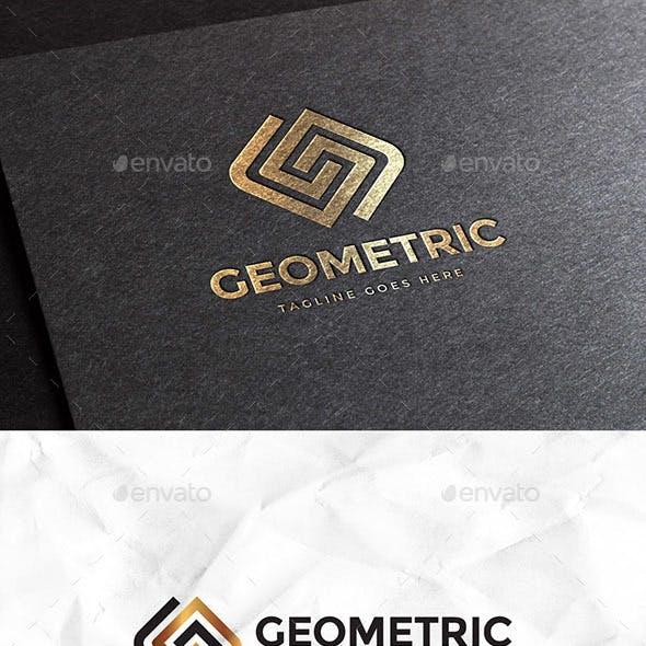 Geometric Letter G Logo Template