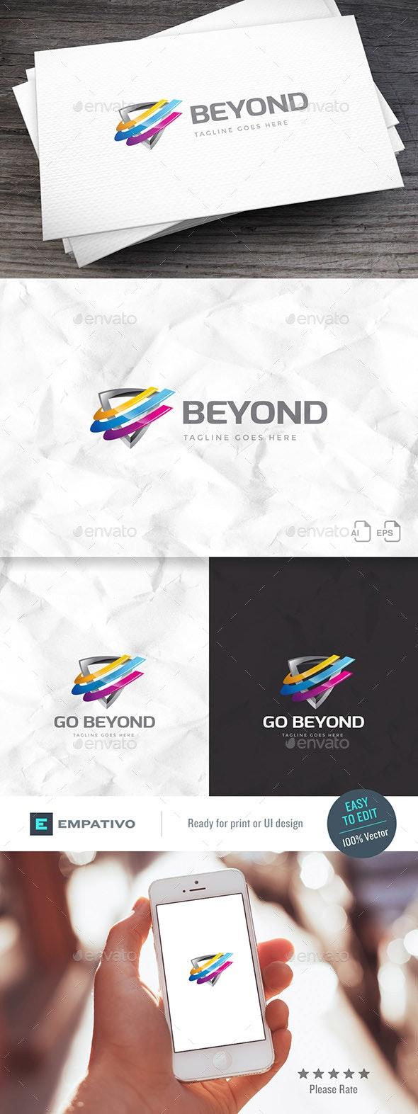 Go Beyond Logo Template