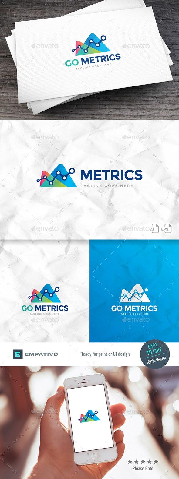 Go Metrics Logo Template