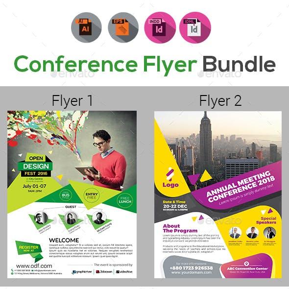 Event Summit Conference Flyer Bundle