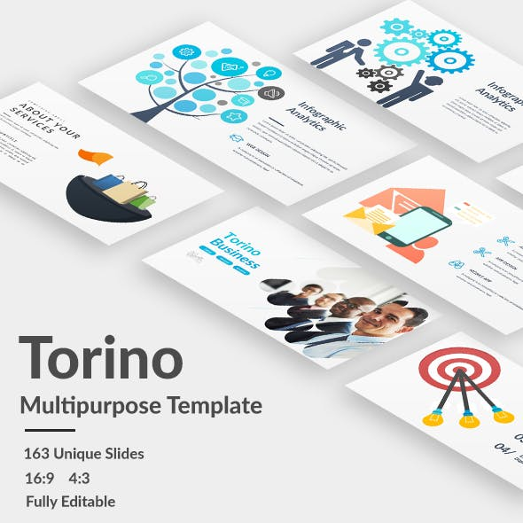 Torino Multipurpose Powerpoint Template