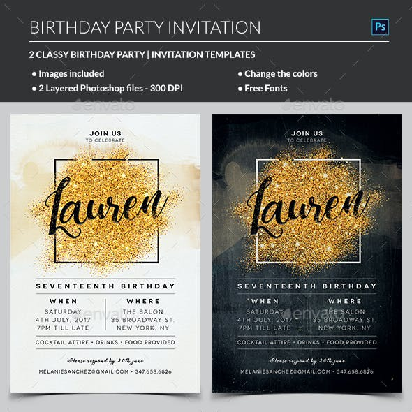 Chic Flyers Graphics, Designs & Templates from GraphicRiver