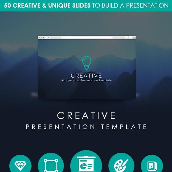 CREATIVE - Multipurpose Presentation Template