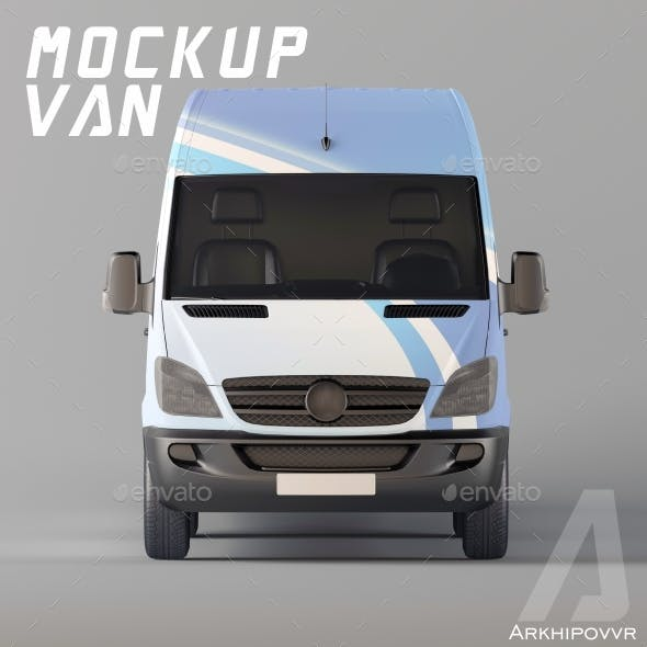 Van Mockup by Arkhipovvr