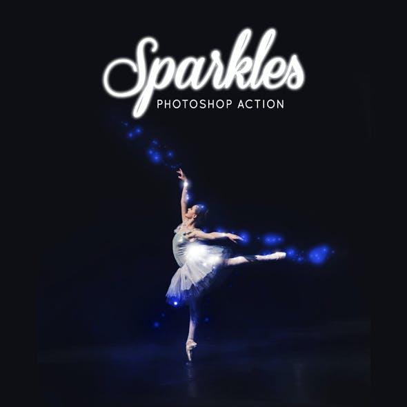 Sparkles Photoshop Action