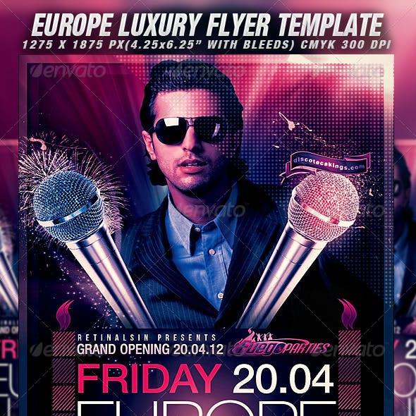 Europe Luxury Flyer Template