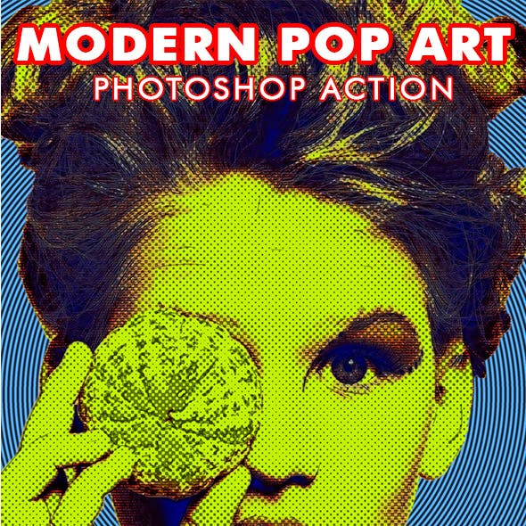Modern Pop Art Photoshop Action