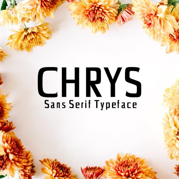 Chrys Sans Serif Typeface