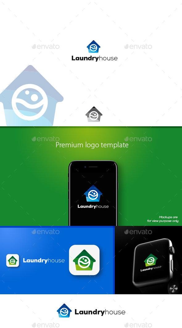 Laundryhouse Logo - Symbols Logo Templates