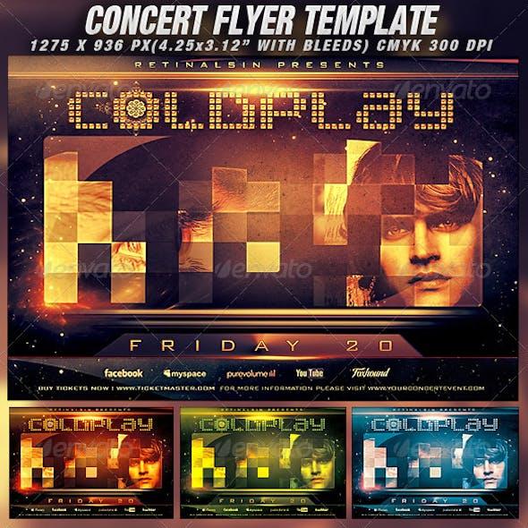 Concert Flyer Template v.2