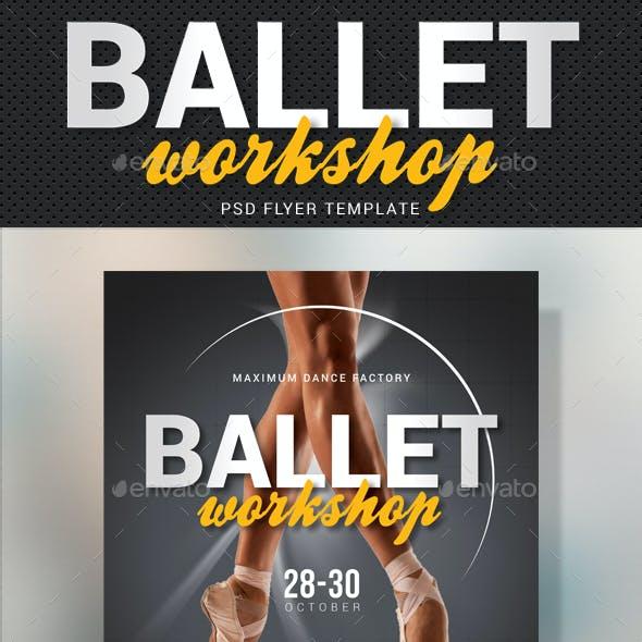 Ballet Workshop Flyer