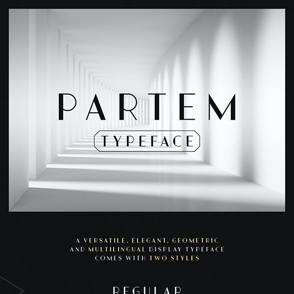 Partem Typeface