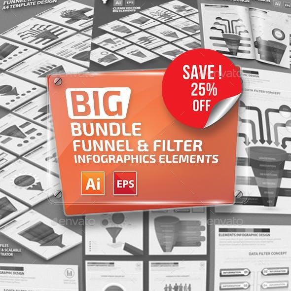 Bundle Funnel & Filter Infographics