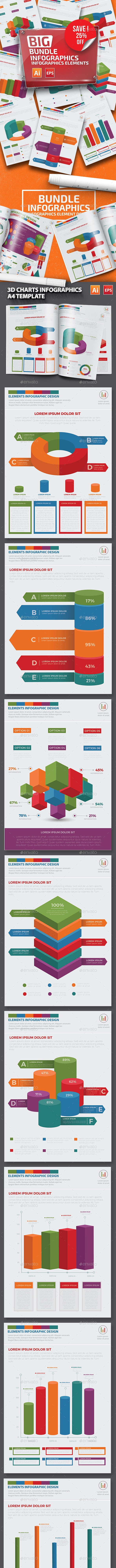 Bundle Infographics Template - Infographics