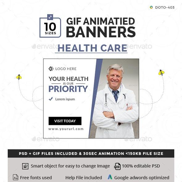 Health Care Animated GIF Banners