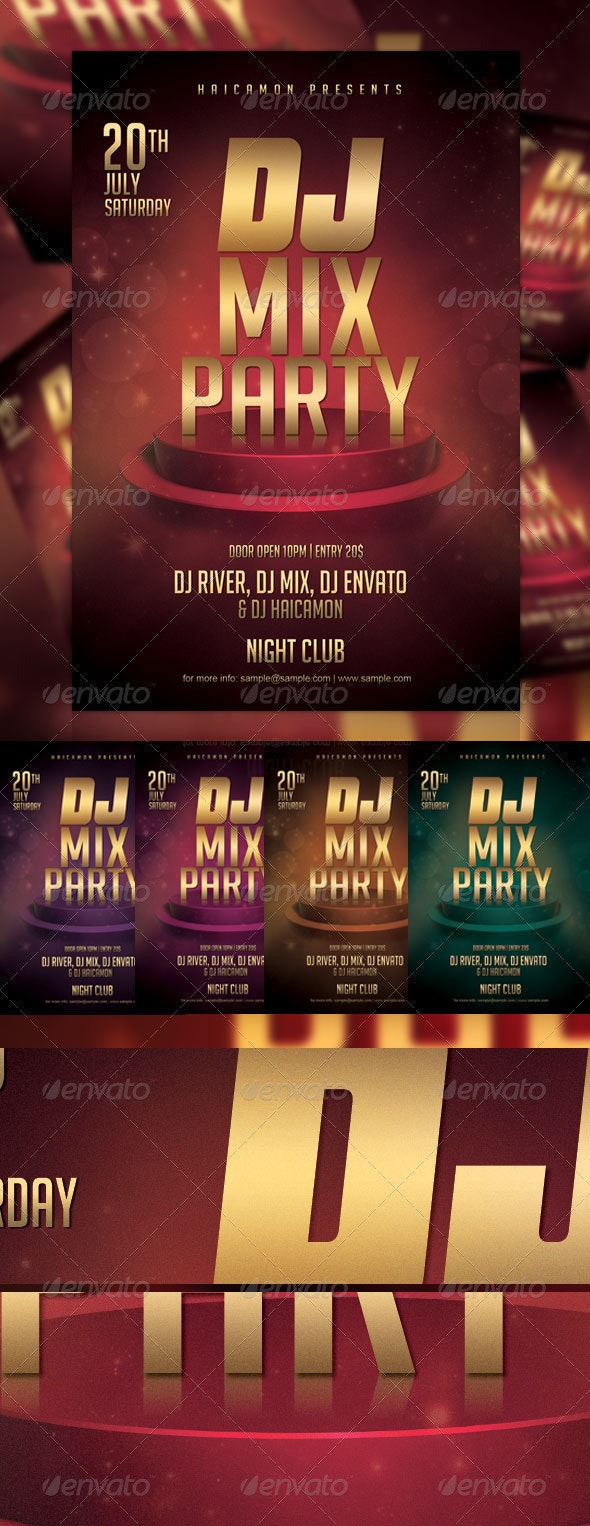 Dj Mix Party - Clubs & Parties Events