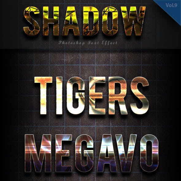 Shadow Text Effect vol 11