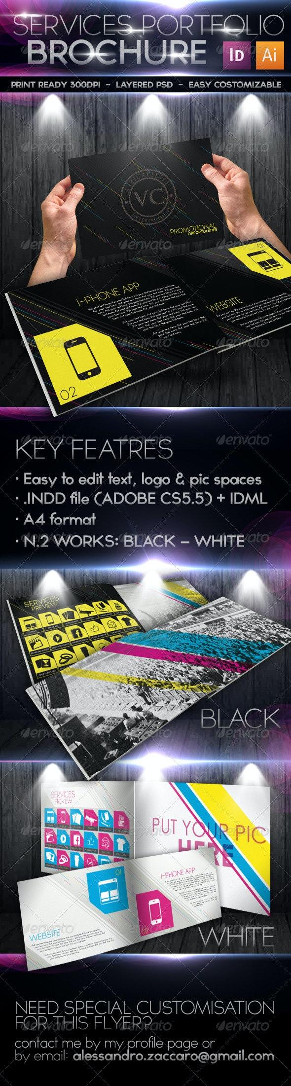 Event & Marketing Portfolio Brochure/Catalogue - Corporate Brochures