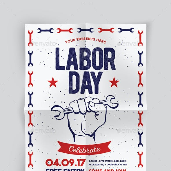 Labor Day Flyer & labor Day Sale Flyer