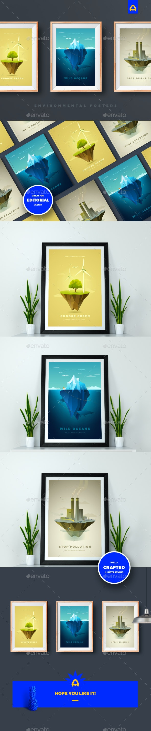 Environmental Posters - Landscapes Nature