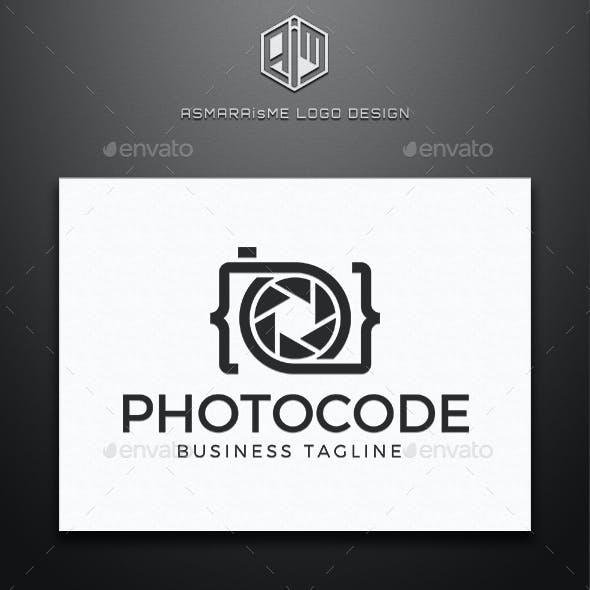 Photo Code  - Camera Logo