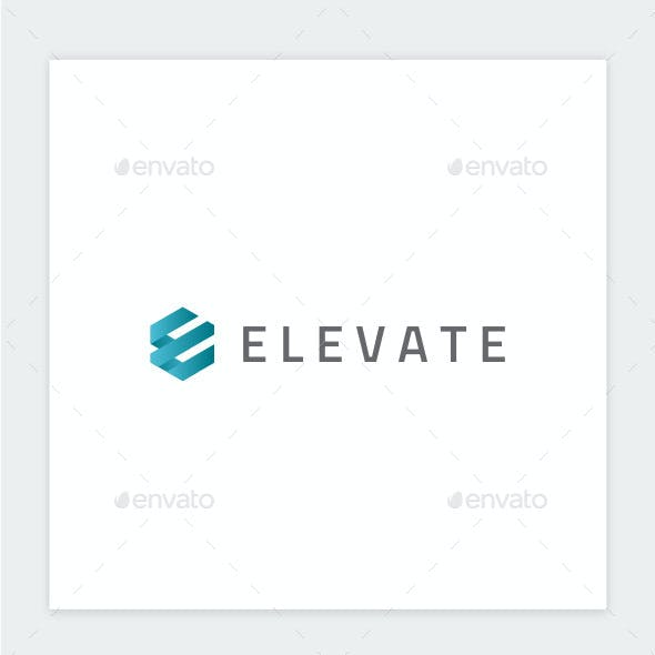 Elevate - Letter E Logo