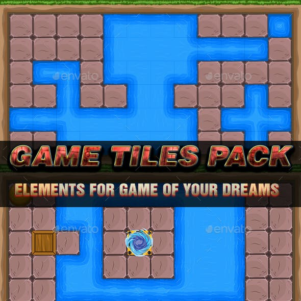Game Tiles Pack - Suitable for Water Related Games