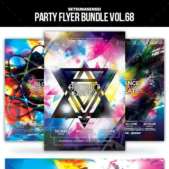Party Flyer Bundle Vol.68