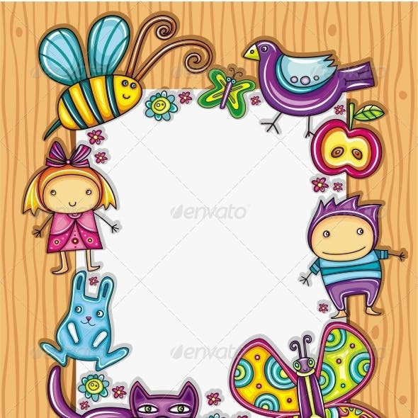 Children Cartoon Framework