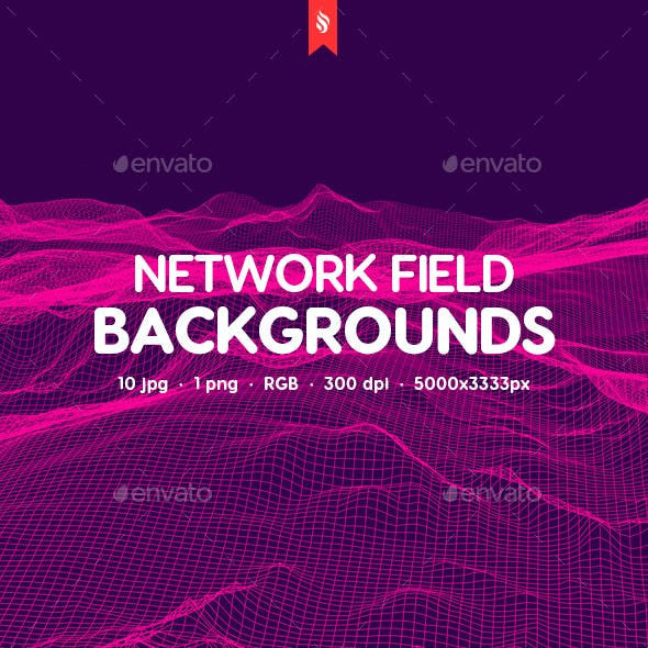 Network Field Backgrounds