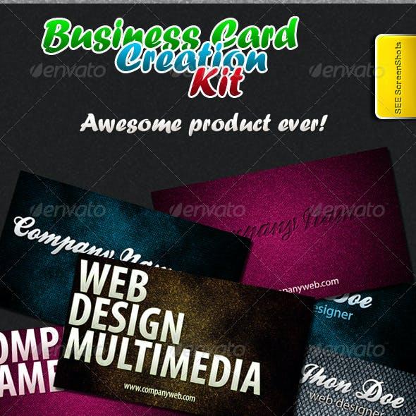 Business Card Creation Kit