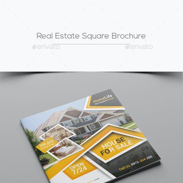 Real Estate Square Brochure
