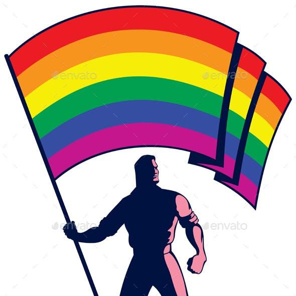 Pride Flag Bearer