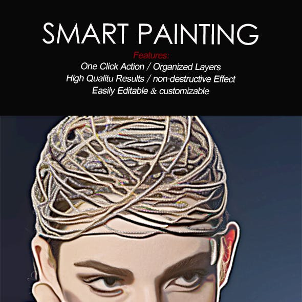 Smart Painting Photoshop Action