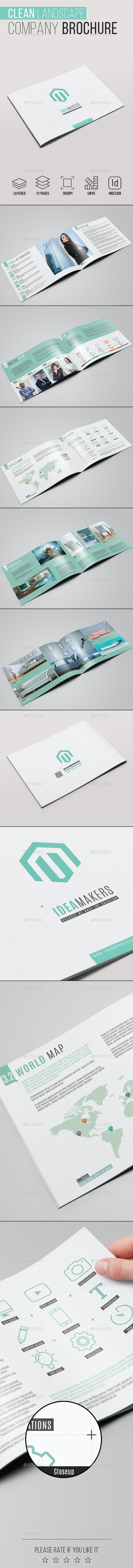 Clean Landscape Company Brochure - Corporate Brochures