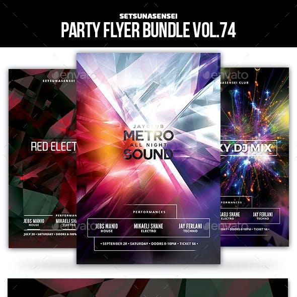 Party Flyer Bundle Vol.74