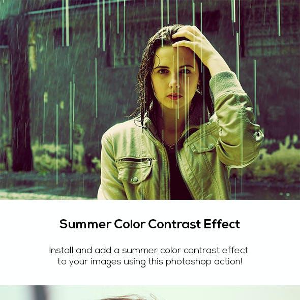Summer Color Contrast Effect