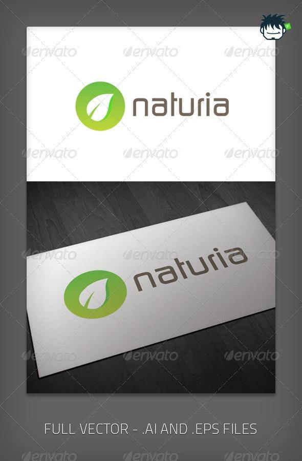 Naturia Logo - Nature Logo Templates