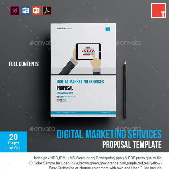 Digital Marketing Services Proposal Template