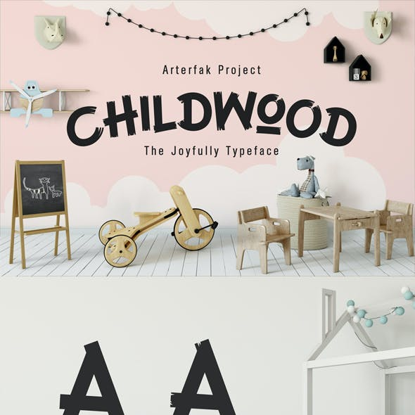 Childwood Typeface