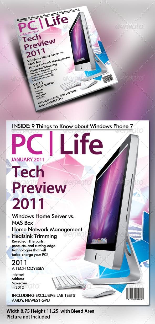 Premium Magazine Cover Designs - Magazines Print Templates